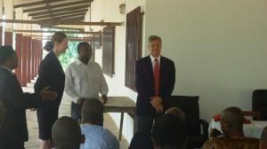 Americain Environnemental Law Institute (ELI) et PGEG ont organisés les deux ateliers qui ont permis à l'équipe de GALF de former 110 magistrats.