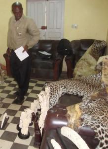 Mamadou Bhoye Sow est ingénieur des Eaux et Forêts diplômé de l'école de faune de Garoua au Cameroun