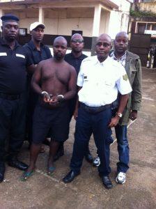 Ousmane Diallo arrêté par l'équipe d'Interpol et du GALF 3