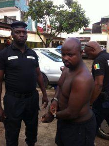 Ousmane Diallo arrêté par l'équipe d'Interpol et du GALF 4