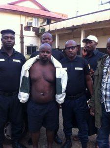 Ousmane Diallo arrêté par l'équipe d'Interpol et du GALF 6