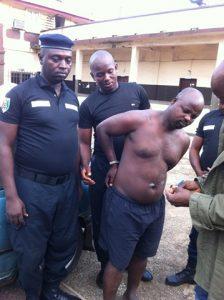Ousmane Diallo arrêté par l'équipe d'Interpol et du GALF 7