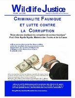 Wildlife Justice : magazine sur l'application de la loi faunique
